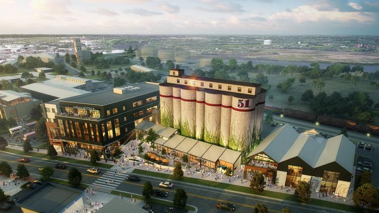 The Expansion Of Stocking 51 Would Surround Existing Silos On Site At 4900 Centennial Blvd
