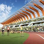 A first look at UO's proposed Hayward Field renovations (Renderings)