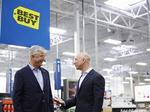 Amazon teams with Best Buy to sell TVs