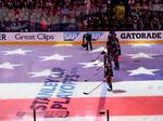 Blue Jackets fans treated to a rockin' night, 3D light show on ice at Nationwide Arena (Video)