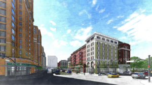Office out. Apartments in. Here's the look of JBG Smith's revised PenPlace plan.