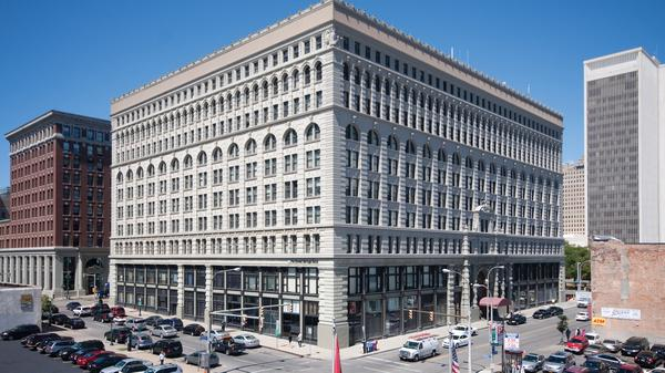 Buffalo's Best Known Business Address- The Ellicott Square Building