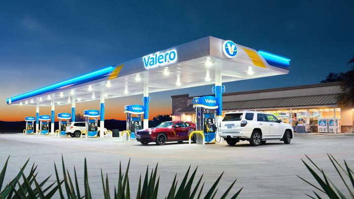 Valero changing its look at the gas pump