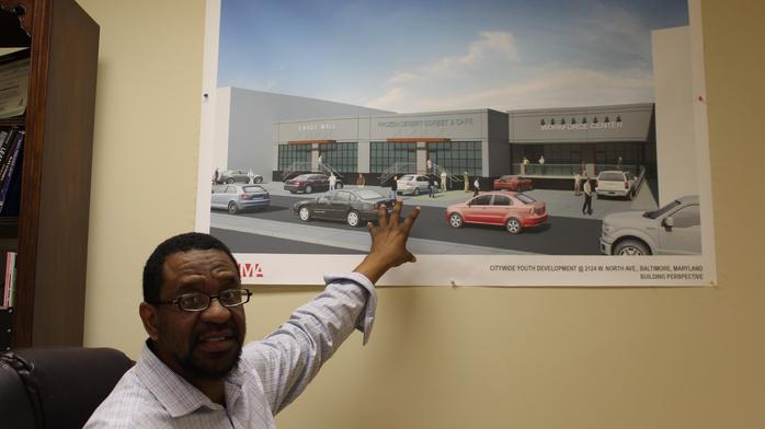 This entrepreneur wants to create a West Baltimore manufacturing hub to help reduce crime