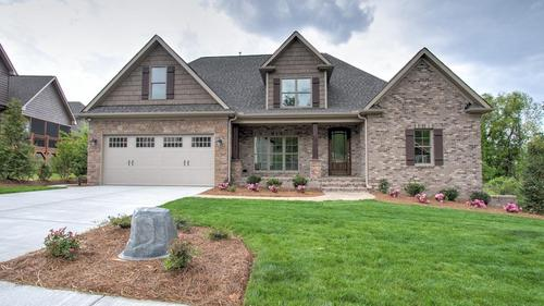 Basement Home in the Gates at Brassfield Subdivision