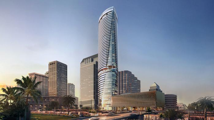 53-story Riverwalk Place developers reveal ultra-modern design (Rendering)