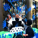 New interactive mural goes up Downtown