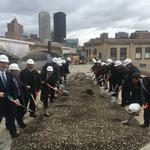 Gov. Wolf joins McKnight Realty to begin South Side terminal's transition into the Highline Building