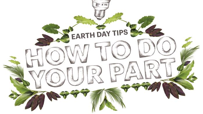 Earth Day tips: How to do your part