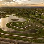 Texas flood-mitigation, green space project finishes first phase