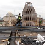 <strong>Frost</strong> Tower construction reaches new milestone (slideshow)