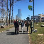 Extension of the Schuylkill trail dedicated