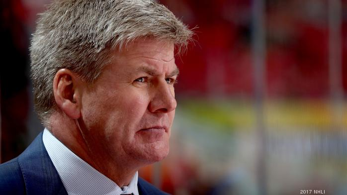 Carolina Hurricanes head coach resigns