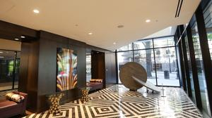 The uptown Charlotte Omni Hotel is wrapping up a $30 million redesign. The redesign pays homage to Charlotte's ties to gold mining, incorporating a metallic color palette with fixtures and artwork reflecting that.
