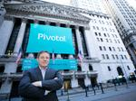 Pivotal Software up nearly 5% at closing on the first day of trading