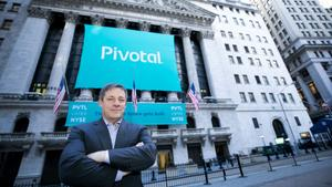 Pivotal Software shares pop 10.5% at the open in first day of trading before retreating