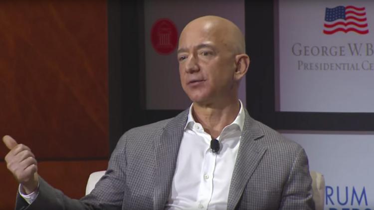 Here S What Amazon Ceo Jeff Bezos Said When He Visited Dallas Bush