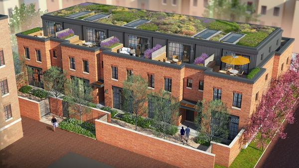 Five New Townhomes for a Contemporary, Urban Lifestyle in Bloomingdale
