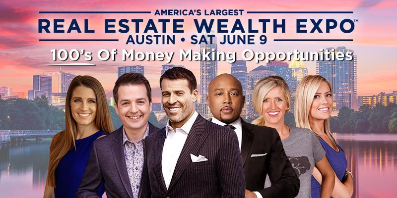 Real Estate Wealth Expo Featuring Tony Robbins & Daymond John - Austin 2018