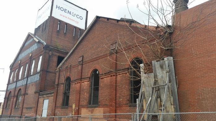 Hoen Lithograph building's $28 million transformation begins