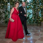Marillyn Hewson, David Rubenstein among attendees at White House state dinner