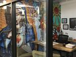 Milwaukee's Coolest Offices: Bull Moose Financial office has its own murals, living room