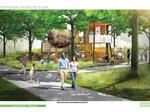 Giant nests, shipping containers proposed for riverfront park