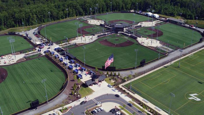 Big changes underway at LakePoint sports complex