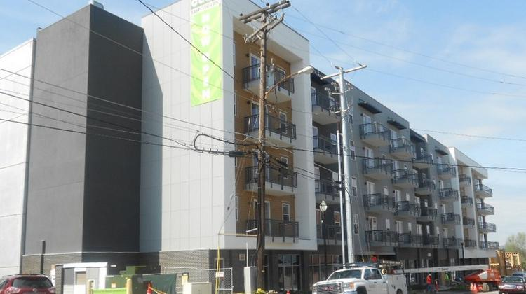 The Cleo An East Nashville Apartment Complex At 710 Miller Drive Opened In