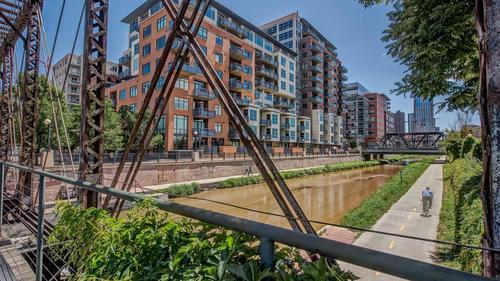 Light Filled Loft at Waterside Lofts