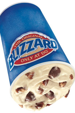 blizzard flavors at dq