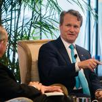 Bank of America CEO talks dangers of technology, importance of physical branches during Baltimore visit