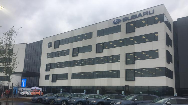 Old Subaru US headquarters to be razed in NJ - Philadelphia