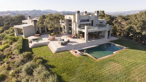 Mountain-Top Private Napa Estate