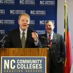 North Carolina Community College System elects new president