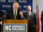 North Carolina Community College System elects new president