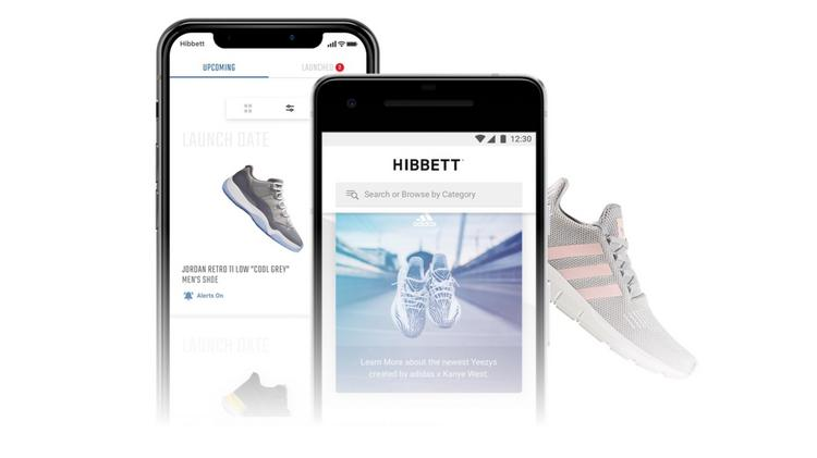 66b0053a4c8 Hibbett Sports new mobile app available for download now in the App Store  and Google Play