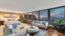 Stunning mid-century remodeled and re-imagined view home on an oversized lot with a glorious garden