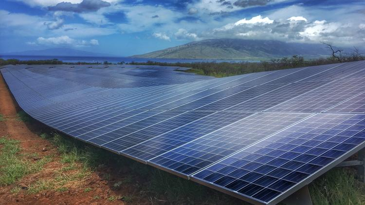 Maui's first large-scale solar project goes online - Pacific