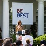 Melania Trump unveils