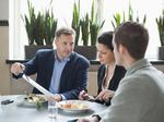 How to handle lunch with a senior executive