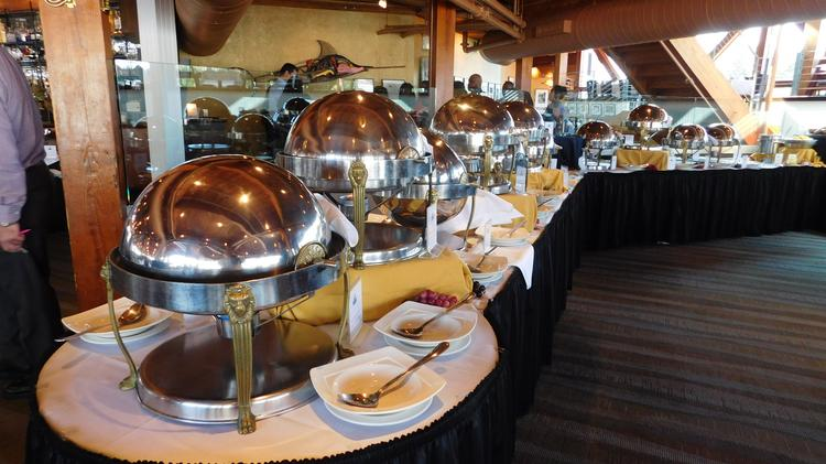 A Brunch Display At The Rusty Scupper One Of Four Baltimore Restaurants To Make Opentables