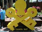 Visit Tampa Bay unveils new public art in downtown Tampa