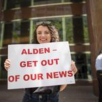 ​Denver Post journalists go to New York to protest their owner