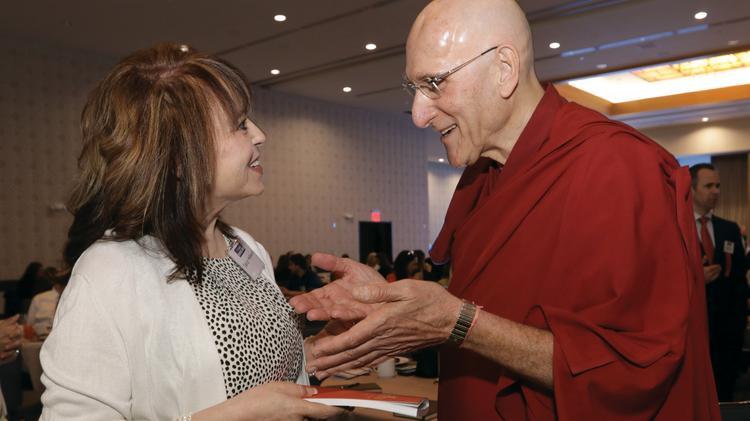 Photos: The Dalai Lama's doctor touts meditation at The