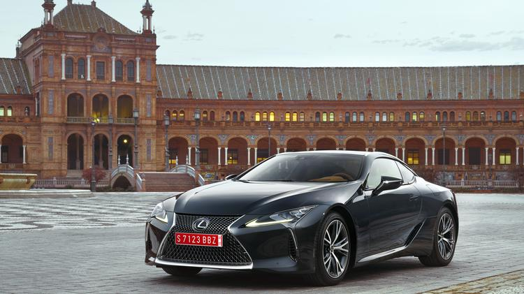 Automotive Minute: 2018 Lexus LC 500 is the little Japanese coupe ...