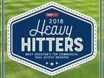 HBJ reveals rankings of 2018 Heavy Hitters, the city's top commercial real estate brokers