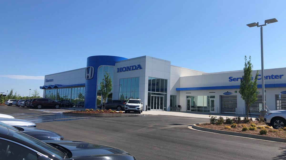 Charlotte based hendrick automotive group opens first for Honda dealership atlanta ga