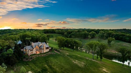 Custom Estate Home on 77 Acres in Wildwood