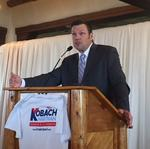<strong>Kobach</strong>: 'Purple, pot-smoking Colorado' better than Kansas for businesses